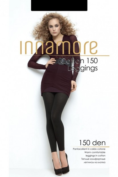 Утепленные хлопковые женские легинсы INNAMORE COTTON 150 leggings