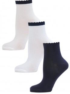 Детские носки LARMINI LR-S-K-3-CDB-WDB-DB