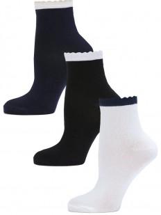 Детские носки LARMINI LR-S-K-3-DBC-BW-WDB