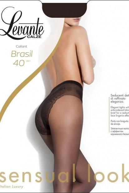 Классические колготки с трусиками Levante BRASIL 40 - фото 1