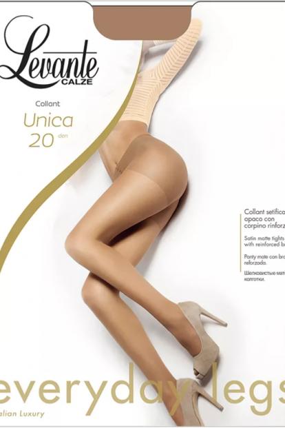 Летние матовые колготки 20 ден Levante UNICA - фото 1