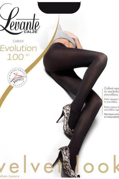 Теплые матовые колготки Levante EVOLUTION 100 - фото 1