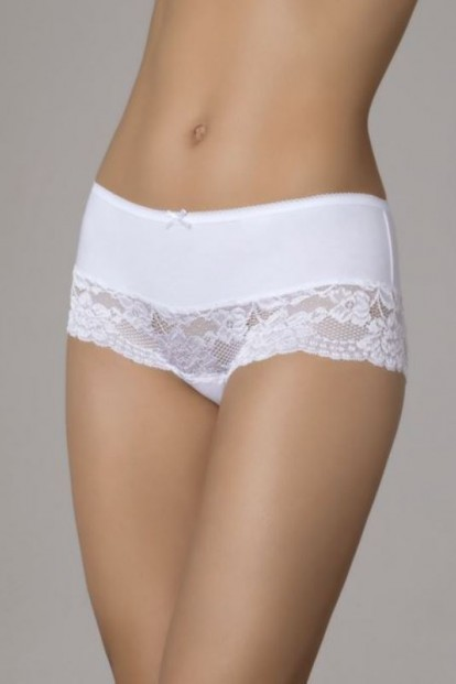 Женские хлопковые кружевные трусы шорты MINIMI INTIMO B0231 panty - фото 1