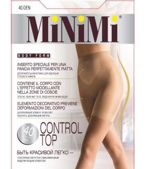 Матовые колготки MINIMI CONTROL TOP 40