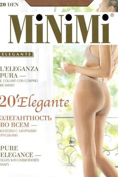 Классические колготки с трусиками Minimi ELEGANTE 20 - фото 1