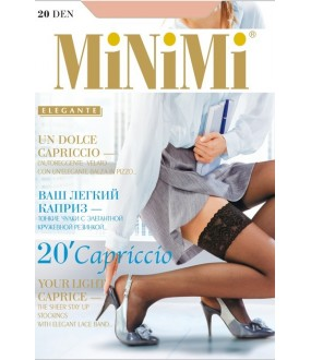Чулки Minimi Capriccio 20 Autoreggente
