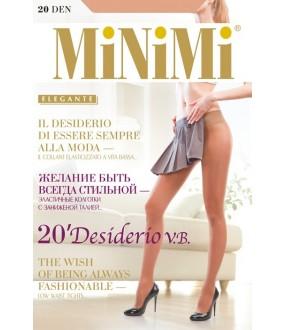 Колготки классические Minimi DESIDERIO 20 VITA BASSA
