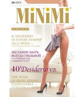 Колготки классические  Minimi DESIDERIO 40 VITA BASSA