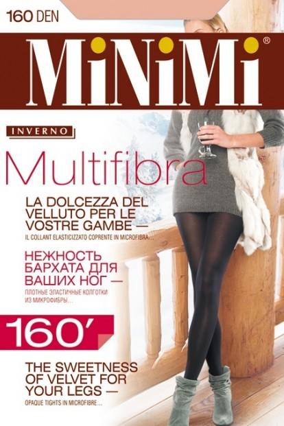 Классические теплые колготки Minimi MULTIFIBRA 160 - фото 1