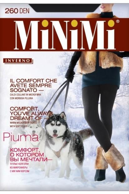 Теплые колготки больших размеров Minimi PIUMA 260 XL - фото 1