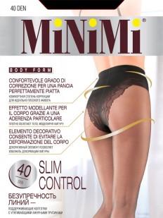 Утягивающие колготки с трусиками Minimi SLIM CONTROL 40