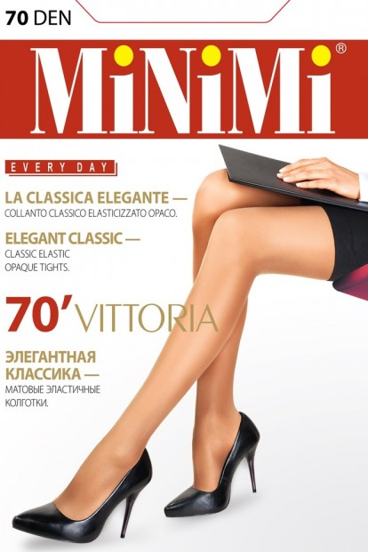 Классические матовые колготки Minimi VITTORIA 70 - фото 1