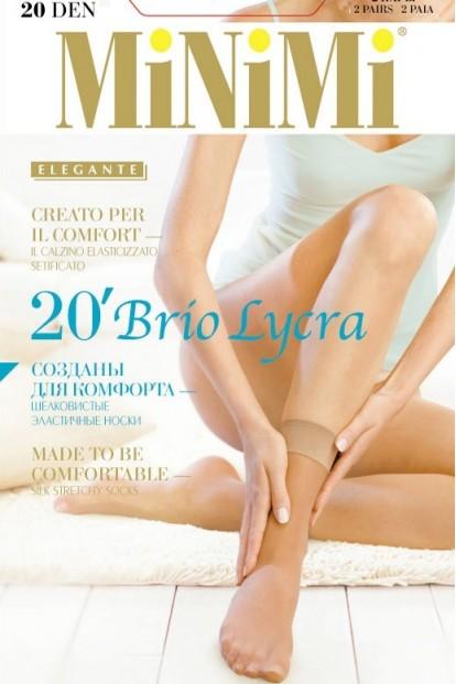 Женские носки Minimi Brio 20 Calzino (2 п.) - фото 1