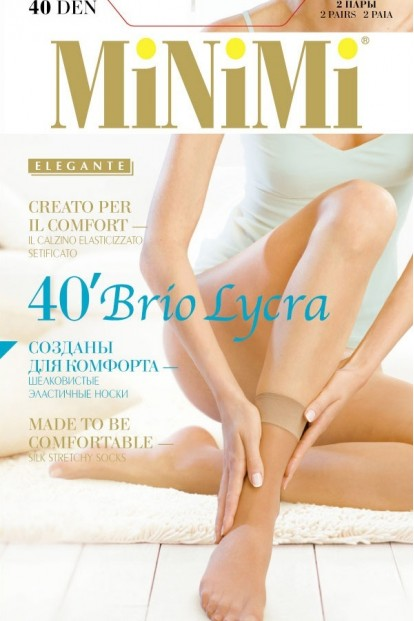 Женские носки Minimi Brio 40 Calzino (2 п.) - фото 1