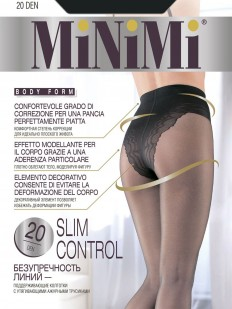 Утягивающие колготки с трусиками Minimi SLIM CONTROL 20