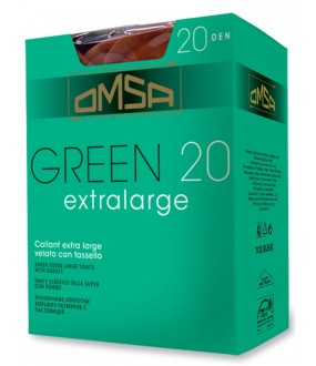 Колготки Omsa Green 20 Extralarge