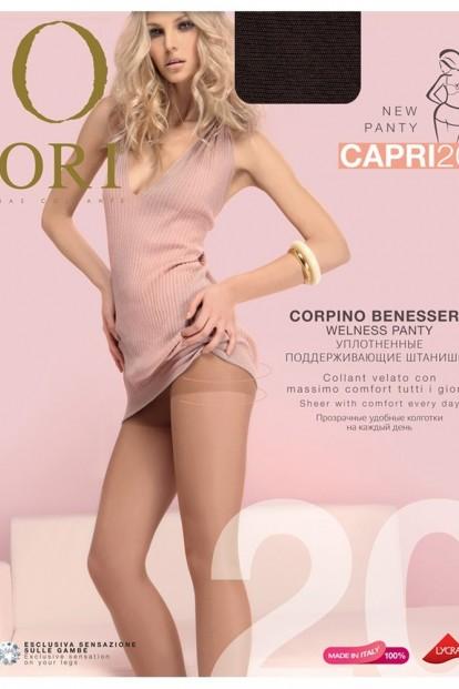 Классические колготки с шортиками 20 ден ORI CAPRI - фото 1