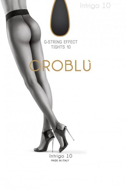 Летние матовые колготки Oroblu INTRIGO 10 - фото 1
