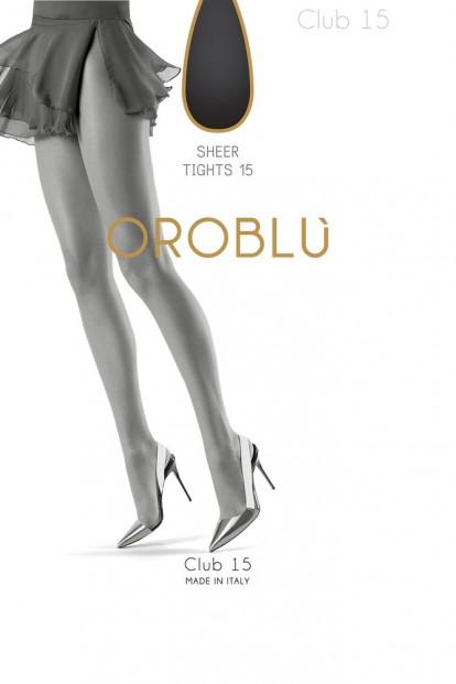 Классические матовые колготки Oroblu CLUB 15 - фото 1