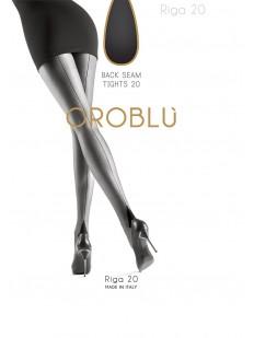 Тонкие колготки со швом Oroblu RIGA 20