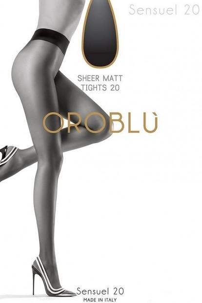 Классические матовые колготки Oroblu SENSUEL 20 - фото 1