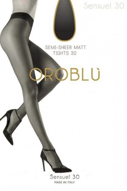 Классические матовые колготки Oroblu SENSUEL 30 - фото 1