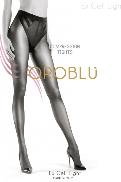 Матовые антицеллюлитные колготки 40 ден Oroblu EX CELL LIGHT - фото 1