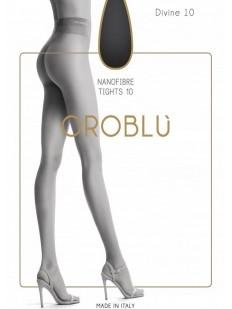 Летние матовые колготки Oroblu DIVINE 10 Nanofibra