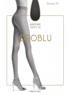 Классические матовые колготки Oroblu DIVINE 20 Nanofibra