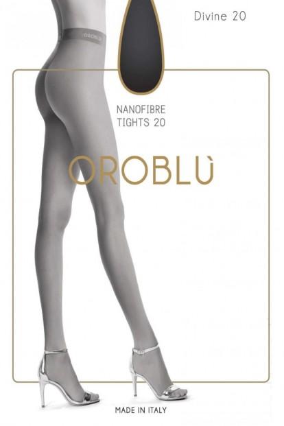 Женские матовые колготки Oroblu DIVINE 20 Nanofibra - фото 1