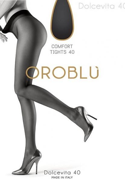 Классические матовые колготки Oroblu DOLCEVITA 40 - фото 1
