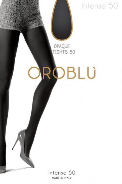 Матовые женские колготки Oroblu INTENSE 50 - фото 1