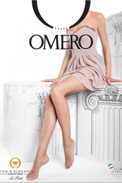 Бесшовные колготки в крупную сетку Omero RETE LARGA - фото 1