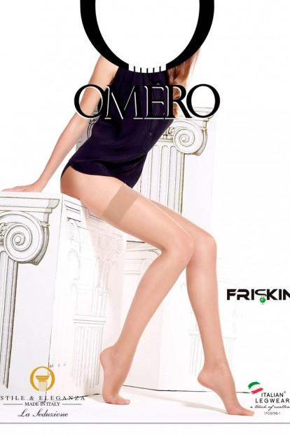 Матовые тонкие чулки с гладкой резинкой OMERO LIBERA 20 - фото 1