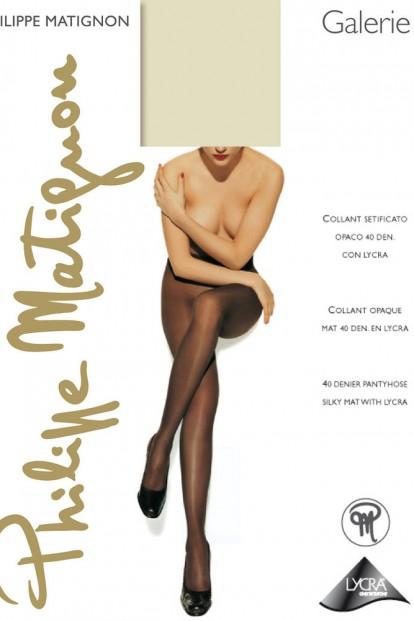 Классические женские колготки Philippe Matignon GALERIE 40 - фото 1