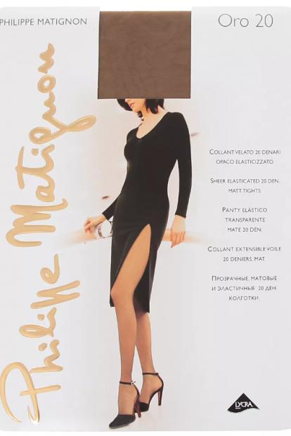Классические колготки Philippe Matignon ORO 20 - фото 1