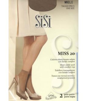 Тонкие носочки SISI MISS 20 calzino, 2 paia