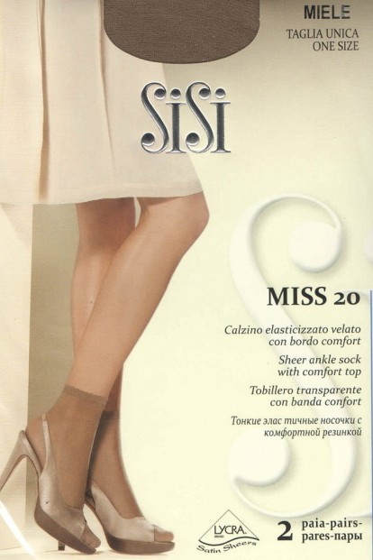 Женские носки Sisi Miss 20 Calzino (2 п.) - фото 1