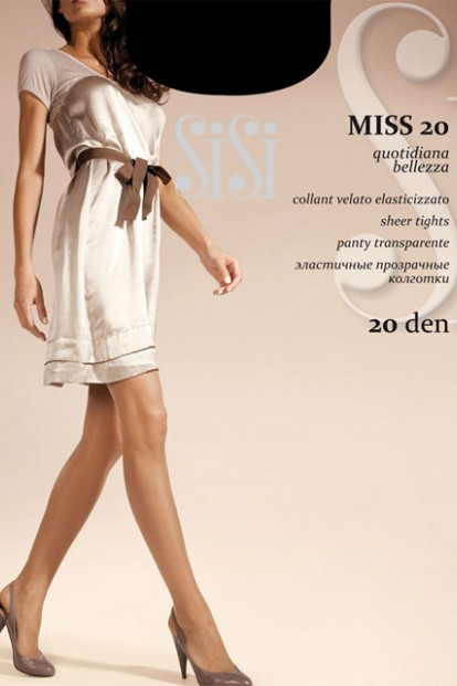 Классические колготки с шортиками Sisi MISS 20 - фото 1