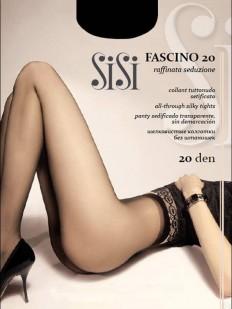 Классические женские колготки без шортиков 20 ден