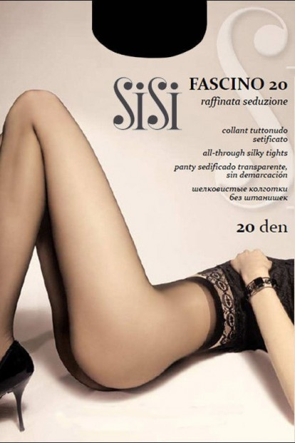 Классические женские колготки Sisi FASCINO 20 - фото 1