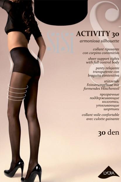 Женские поддерживающие колготки с шортиками Sisi ACTIVITY 30 - фото 1