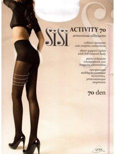 Поддерживающие колготки с шортиками Sisi ACTIVITY 70