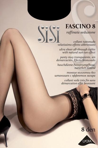 Классические летние колготки Sisi FASCINO 8