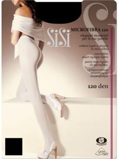 Теплые матовые колготки Sisi MICROFIBRA 120