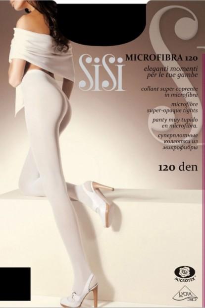Теплые матовые колготки Sisi MICROFIBRA 120 - фото 1
