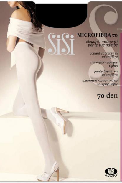 Плотные матовые колготки Sisi MICROFIBRA 70 - фото 1