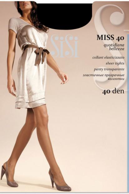 Классические колготки с шортиками Sisi MISS 40 - фото 1