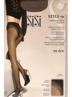 Классические колготки с трусиками Sisi STYLE 70