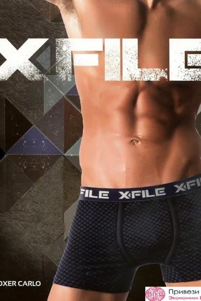 Мужские боксеры X File Carlo Boxer - фото 1